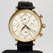 IWC Portofino Chronograph IW391025 Very good Rose gold 42mm Automatic