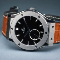 Hublot Classic Fusion Ultra-Thin 515.NX.1270.LR Good Titanium 45mm Manual winding