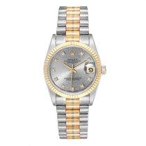 Rolex Datejust White gold 31mm Silver