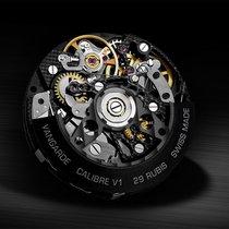 Vangarde Chronograph 42mm Automatik 2018 neu Schwarz