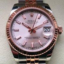 Rolex Datejust, Ref. 178271 - rosa Index Zifferblatt/Jubileeband