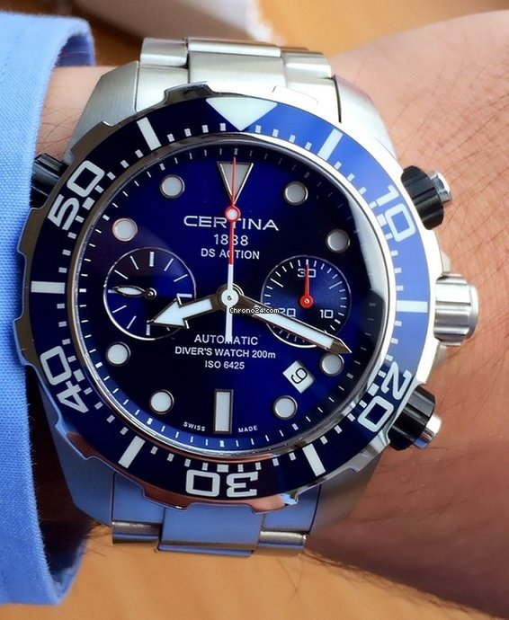 731727d95 Certina DS Action - all prices for Certina DS Action watches on Chrono24
