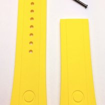 Oris Parts/Accessories Men's watch/Unisex 201602249976 new Rubber Yellow Aquis