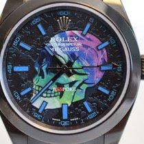 Rolex Milgauss SKULL - Custom PVD Skull Dial Limited Edition