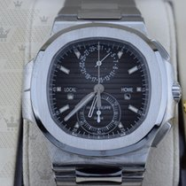 百達翡麗 5990/1A-001  Nautilus Travel Time Chronograph Steel