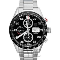 TAG Heuer Carrera Day-Date Automatic Chronograph Black Steel