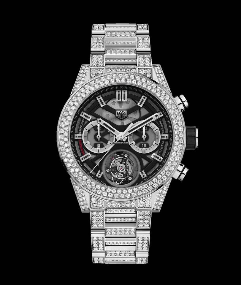 TAG Heuer Carrera Calibre Heuer 02T COSC Diamonds ...