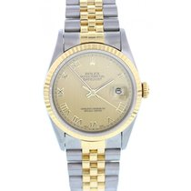 Rolex Oyster Perpetual Datejust 16233 18K YG/SS