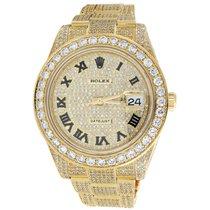 Rolex Custom Watch New Rolex Date Just II 2 Flooded Genuine...