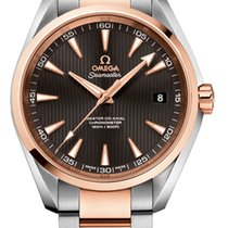 Omega 231.20.42.21.06.003 Gold/Steel 2019 Seamaster Aqua Terra 41.5mm new United States of America, Iowa