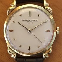 Vacheron Constantin Yellow gold Manual winding Silver (solid) No numerals 35.5mm pre-owned