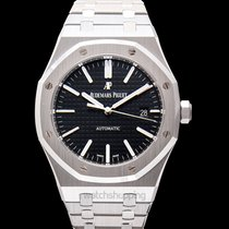 Audemars Piguet Royal Oak Selfwinding Black/Steel 41mm -...