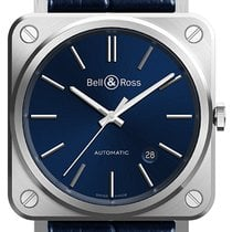 Bell & Ross BR S Steel 39mm Blue United States of America, New York, Airmont