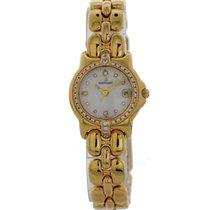 Bertolucci Pulchra 083.68 18k Yellow Gold diamond dial Watch...