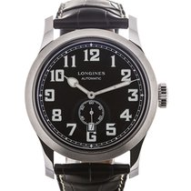 Longines Heritage Military 44mm Black Dial