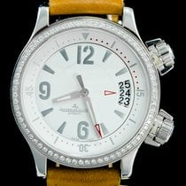 Jaeger-LeCoultre Master Compressor Lady Automatic Acero 37mm Blanco Árabes