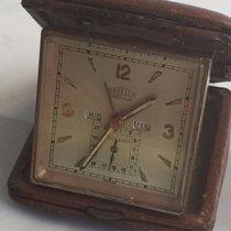 Angelus Folio Date Travel Clock Triple Date Alarm Unique