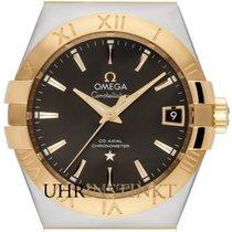 Omega Constellation Men Gold/Steel 38mm No numerals
