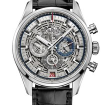 Zenith El Primero Chronomaster Steel Transparent United States of America, New York, Brooklyn