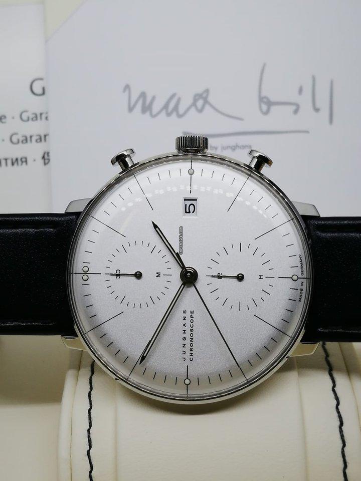 design di qualità 09ad5 be059 Junghans max bill Chronoscope