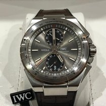IWC Ingenieur Chronograph Racer Steel 45mm Grey No numerals