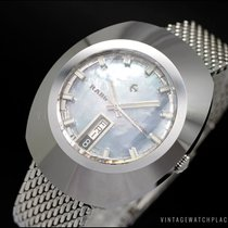 Rado Tungsten Automatic Mother of pearl No numerals 35mm pre-owned Diastar