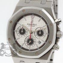 Audemars Piguet Royal Oak Chronograph Stahl 39mm Silber Keine Ziffern Schweiz, Zürich
