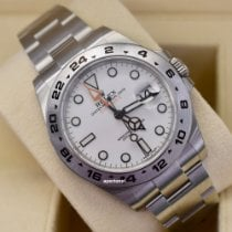 Rolex Explorer II Steel 42mm White No numerals United States of America, Virginia, Arlington
