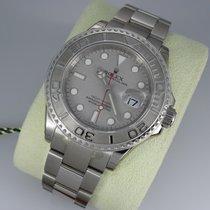 Rolex Yacht-Master 40 neu 2009 Automatik Uhr mit Original-Box und Original-Papieren 16622