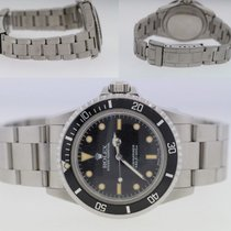 Rolex Submariner (No Date) Acier 40mm Noir Sans chiffres