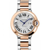 Cartier Ballon Bleu 42mm new Automatic Watch with original box and original papers W2BB0004