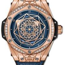 Hublot Big Bang Sang Bleu Oro rosado 39mm Azul
