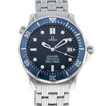 歐米茄 Seamaster Diver 300 M 二手 41mm 藍色 日期 鋼
