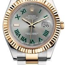 Rolex new Automatic 41mm Gold/Steel Sapphire Glass