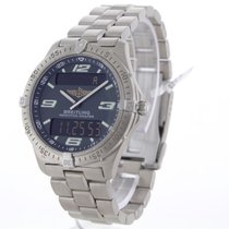 Breitling Titanium Quartz Arabisch 40mm tweedehands Aerospace