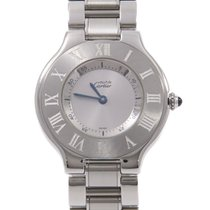 Cartier 21 Must de Cartier pre-owned 30mm Silver