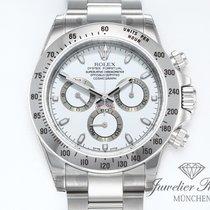 Rolex Daytona neu 2009 Automatik Chronograph Uhr mit Original-Box und Original-Papieren 116520