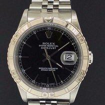 Rolex Datejust Turn-O-Graph 36mm Schwarz Keine Ziffern