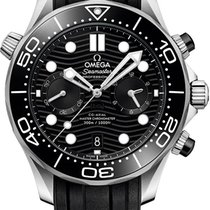 Omega Seamaster Diver 300 M Steel 44mm Black United States of America, New York, Airmont