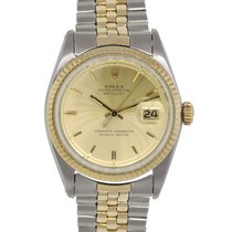 Rolex 1601 Gold/Steel 1969 Datejust 36mm pre-owned United States of America, Florida, Boca Raton