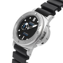 Panerai new Automatic Small seconds 42mm Steel Sapphire crystal