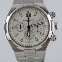 Vacheron Constantin Overseas Chronograph Steel 42mm White No numerals United States of America, New York, Greenvale