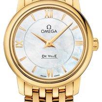Omega Or jaune 27.4mm Quartz De Ville Prestige nouveau