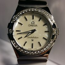 Omega Constellation Quartz Acél