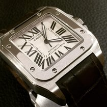 Cartier Santos 100 stainless steel