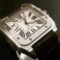 Cartier Santos 100 usado 51mm Aço