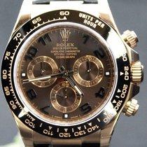 Rolex Daytona Pink Gold Choco Dial Ceramic, Full Set 40MM