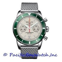 Breitling Superocean Héritage Chronograph Steel 44mm Silver United States of America, California, Newport Beach