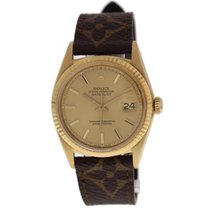 Rolex Oyster Perpetual 1601 Datejust 18k Yellow Gold