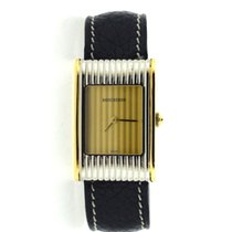 Boucheron Reflets gold and steel with 6 extra straps